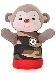 METOO microfone coelho sunpoo macaco fantoche de mão boneca de brinquedo criativo brinquedos tesouro paternidade camuflagem