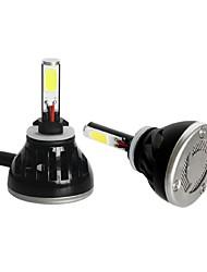 Fahrzeugtyp Lampenfassung g5 führte 6000k 80w 360-Grad-Umwandlung cob LED Scheinwerfer-Glühlampen-Kit