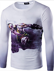 Summer New Brand Fashion Skateboard Street Wear Cotton Man T-shirts Tops Tees Long Sleeve Casual T-Shirts