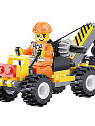 The Latest Toy Building City Construction Team 21005 - Small Crane Small Particles (2 Boxes)