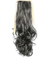 perruque couleur grise 50cm synthétique fil à haute température prêle bouclés 2/613