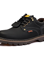 Men's Summer Comfort PU Casual Black / Brown / Yellow / Burgundy