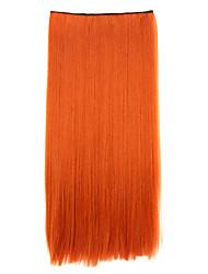 lumière borwn longueur 70cm synthétique recevant un cheveu puce curling pilules cheveux raides (couleur 119)