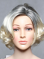 Fashion Synthetic Wigs Blonde Wave Style Top Quality Wigs