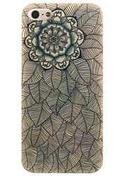 For iPhone 5 Case IMD Case Back Cover Case Flower Soft TPU for iPhone SE/5s/5