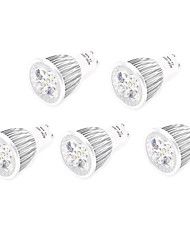5pcs 10W GU10/E27 800LM Warm/Cool Light Lamp LED Spot Lights(85-265V)