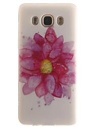 Für Samsung Galaxy Hülle IMD Hülle Rückseitenabdeckung Hülle Blume Weich TPUTrend 3 / J7 (2016) / J5 (2016) / J5 / J1 (2016) / J1 Ace /