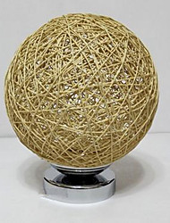 Modern Rattan Lamp Bedroom Bedside Lamp Woven Cane