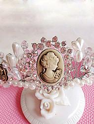 Women's / Flower Girl's Rhinestone / Imitation Pearl Headpiece-Wedding / Special Occasion / Outdoor Tiaras 1 Piece