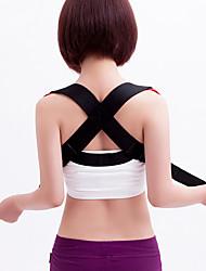 Corpo Completo / Traseira Suporta Manual Shiatsu Alivia Dores de Costas / Corretor de Postura Dinâmicas AjustáveisTecido / Acrílico /