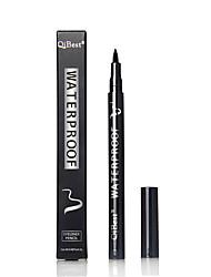 Eyeliner Crayons Sec Dense Gloss coloré Naturel Autre Respirable Noir Yeux 1 1