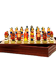 Chess Resin Chess Suits The Character Modelling Three-Dimensional Chess Journey To The West