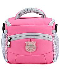 saco SLR por rosa universal de um ombro à prova d'água / à prova de poeira / azul