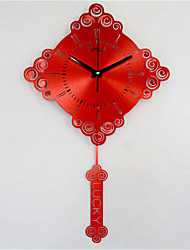 Altro Moderno/Contemporaneo Orologio da parete,Altro Metallo 42*50*7