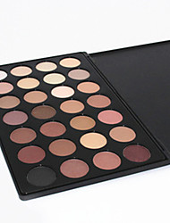 28 Lidschattenpalette Trocken / Matt / Schimmer Lidschatten-Palette Puder NormalAlltag Make-up / Smokey Makeup / Party Make-up / Cateye
