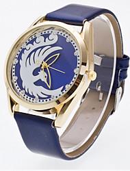 Women's 3D Hollow Engraving Phoenix Luxury Leather Brand Quartz Wristwatch Fashion Watches(Assorted colors) Cool Watches Unique Watches