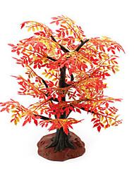 строительного песка игрушка таблица имитационная модель дерева смола завод красный клен мини садоводства сцена