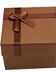 Coffee color Watch Jewelry gift packing box