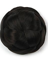 comprimento preto peruca cinco centímetros Kinky sintética cor encaracolados flores alta temperatura empregador 2/33