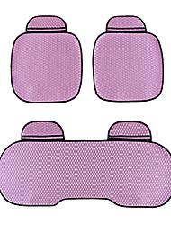 универсальный, пригодный для жизни автомобиль, грузовик, внедорожник или ван плоской ткани подушки сиденья автомобиля 3 шт фиолетовый