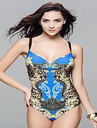 Bikinis / Une-pièce Aux femmes Bohème Licou Nylon / Spandex