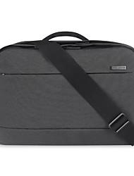bolsa de laptop tecido impermeável oxford pofoko® 14 polegadas preto