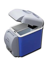 qualità 7.5L abs blu corsa mini estate portatile guida frigorifero macchina calda e fredda per auto e casa