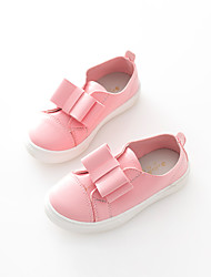 Mocassins(Rose / Blanc) -Similicuir-Confort
