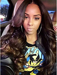 Evawigs Brazilian Human Hair Full Lace Wig Big Wave Wig for Black Women