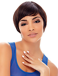 Short Bob High Quality Synthetic Brown Straight Hair Wig