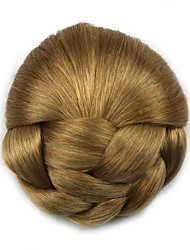 Kinky Curly Gold Lady Human Hair Weaves Chignons 1011