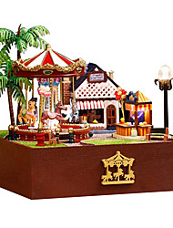 Diy House Chinese Valentine'S Day Premium Manual Trojan Joy Garden House A Birthday Present