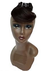 4pcs / lot 8inches бразильская виргинская волна волос тела 100% необработанные бразильские человеческие волосы переплетены пучками