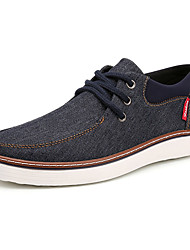Men's Board Shoes Casual/Travel/Outdoor Fashion Sneakers Canvas Leather Plus Size Shoes EU39-EU46