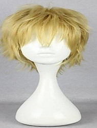 New Arrival Cosplay Wigs 4 Colors Synthetic Hair Wig Short Curly Natural Animated Wigs Party Wigs