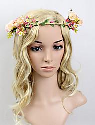 Mulheres Plástico Capacete-Casamento / Ocasião Especial Bandanas / Grinaldas 1 Peça 35~50