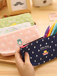 1PC Cartoon Super Animal Pencil Case Cotton And Linen Pocket Multi-Functional Cosmetic Stationery Bags