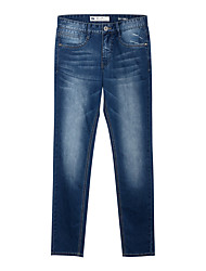 Meters/bonwe® Men's Jeans Pants Dark Blue-246237