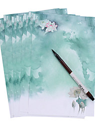 Small fresh Chinese wind (a set of 8 pieces of antique paper, random pattern)
