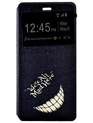 dente coldre tensão pintado pu tampa do telefone material de concha para o Huawei Ascend P9 / P9 Lite