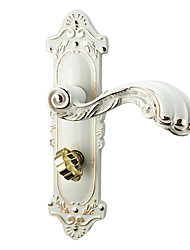 ivory indoor Wooden door lock
