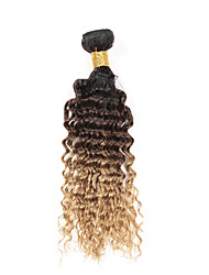 3 Pieces Wavy Human Hair Weaves Brazilian Texture Human Hair Weaves Wavy