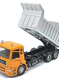 Children's toy car truck 1:48 back of alloy car model toy excavators 1:55 garbage truck (9PCS)