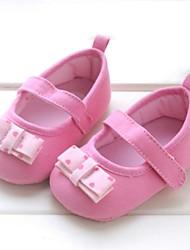 Chaussures bébé-Rose-Extérieure-Coton-Plates