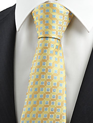 KissTies Men's Lucky Ancient Coin Pattern Microfiber Tie Necktie Formal With Gift Box (4 Colors Available)