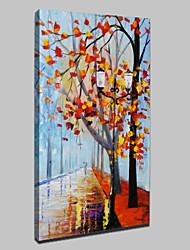 grande pintura à mão pintura a óleo abstrata paisagem na lona para sala de estar retrato da arte da parede pronto para pendurar