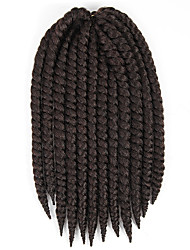 Most Popular Havana Mambo Twist Crochet Braid Hair Gray Synthetic Crochet Braids Senegalese Twists Braids Hair