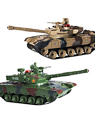 Charged With Two Loaded Parent-Child Play Against Tanks Infrared Turret The Military Parade Tank Model Boy Toy