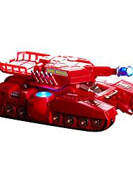 ares tanque de acero de armadura bestia multifunción robot inteligente muchacho cambió la deformación control remoto de regalos