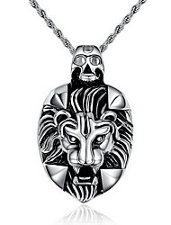 Men's Pendant Necklaces Pendants Stainless Steel Punk Fashion Silver Jewelry Party Daily Casual 1pc